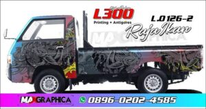 Sticker L300 fullbody Printing sidoarjo 2